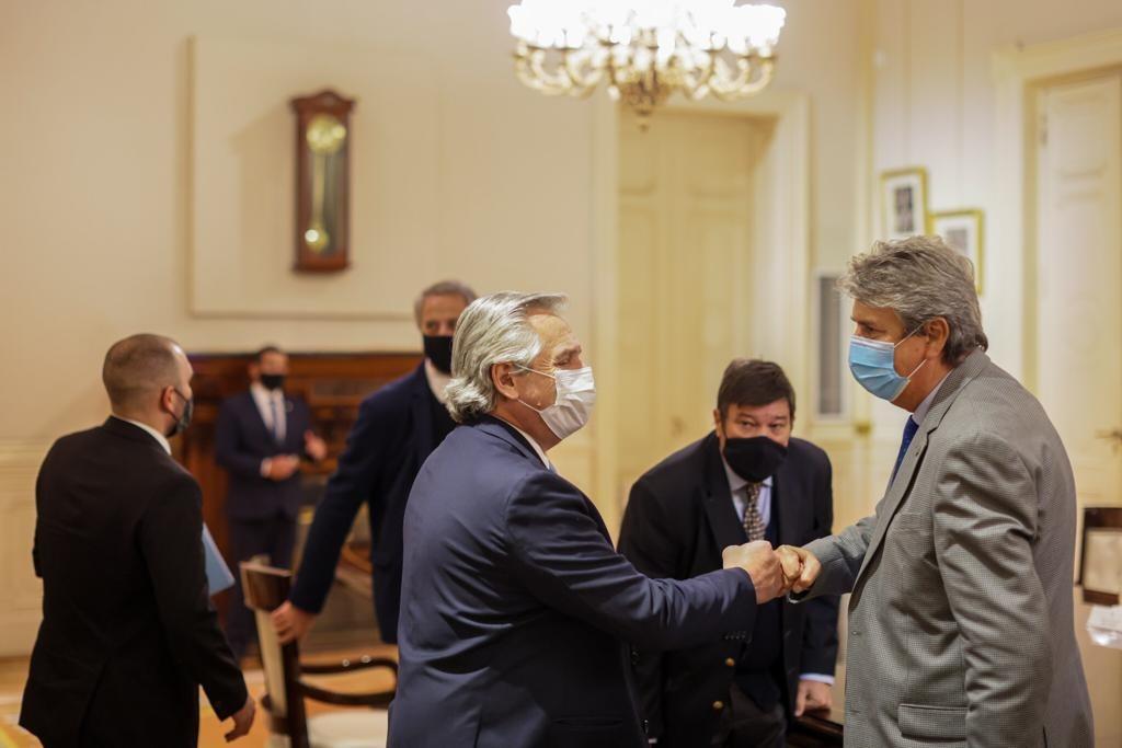 AF recibió al Consejo Agroindustrial: se abrió una mesa de diálogo para dar solución al tema cárnico