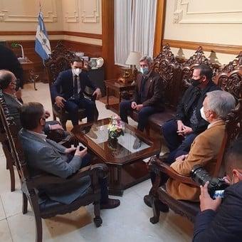 En Corrientes, Valdés recibió a la Mesa de Enlace y ratificó su apoyo al campo