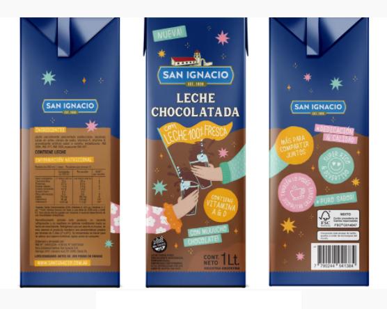 San Ignacio lanzó al mercado su nueva leche chocolatada
