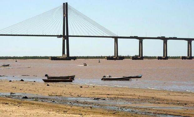 El río Paraná sigue en baja: en Paraná descendió otros 11 centímetros en un día