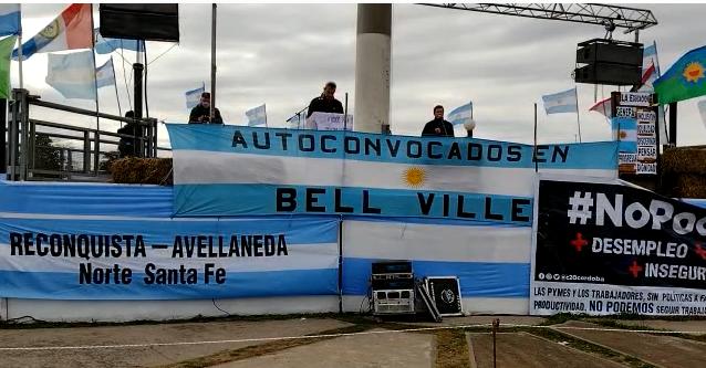 Se realizó hoy asamblea de ruralistas autoconvocados en Bell Ville: pidieron medidas de fuerza