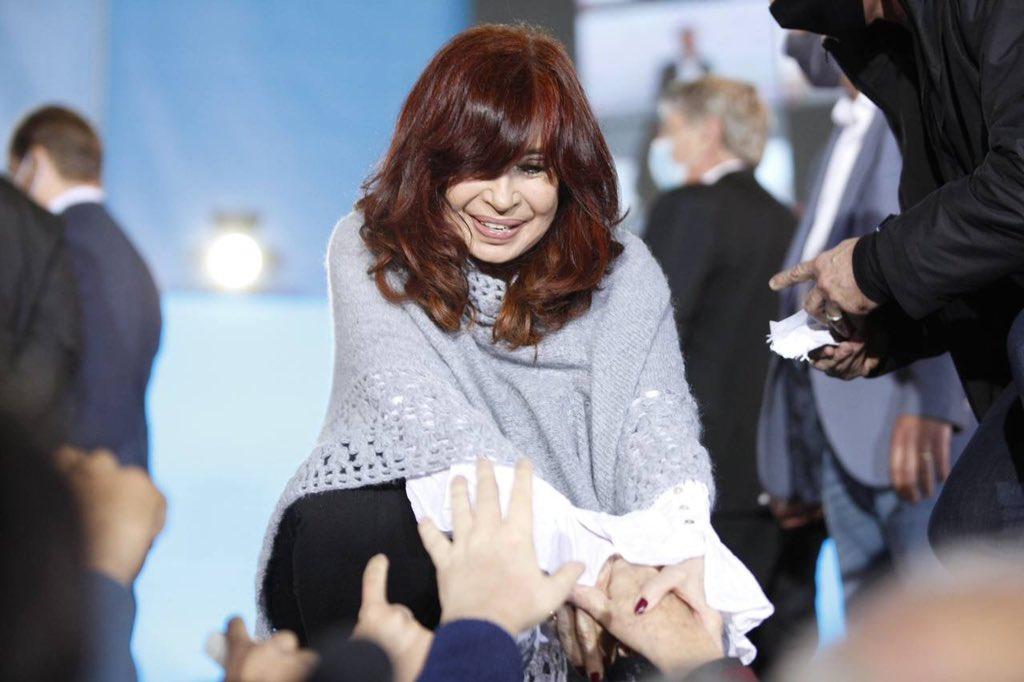 Cristina Fernández defendió el cepo exportador y pidió a privados que «no le mientan a la gente»