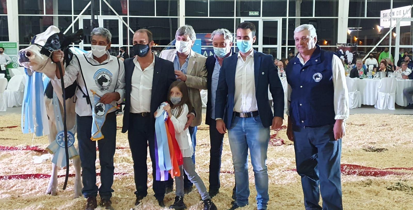 Se realizó en la Sociedad Rural de Morteros la Muestra de Lechería 2021